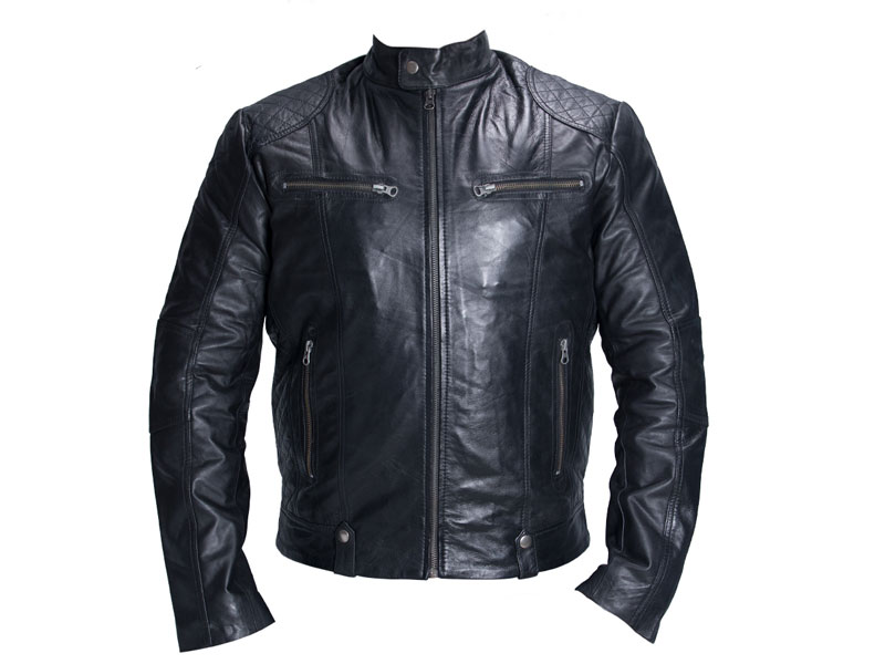d495ae3d033 Black Leather Plus Size Jacket PSM-M39 - Plus Size Clothing in Pakistan