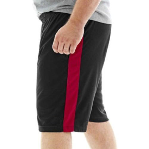 3f749e7005d Black Red Plus Size Big   Tall Performance Shorts PSM-212 - Plus Size  Clothing in Pakistan